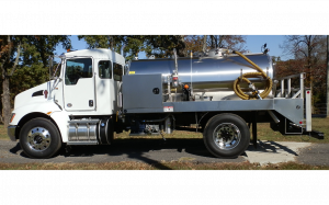 Kenworth Stainless Steel Pumper Truck