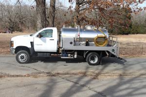 Chevy 5500 Toilet Vacuum Truck