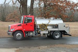 Pumper Truck Stainless Tank