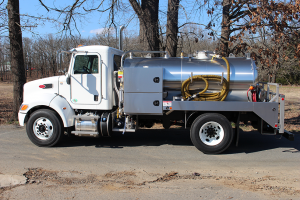 Peterbilt Custom Stainless Septic Truck