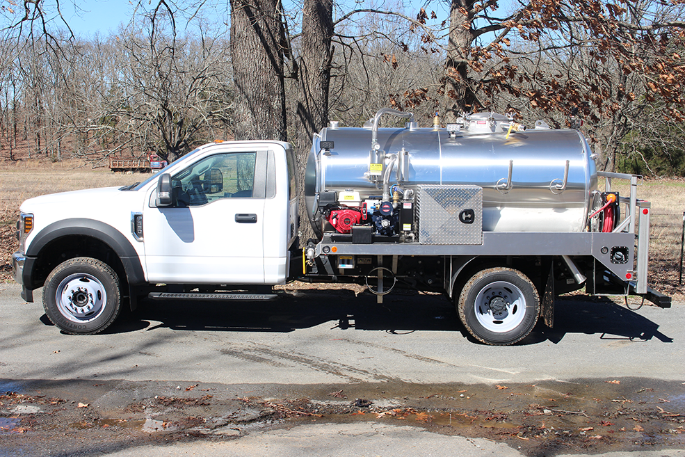 Ford 550 Septic Pumper Vacuum Truck