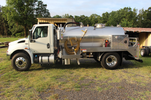 Service and Delivery Vacuum Stainless Truck