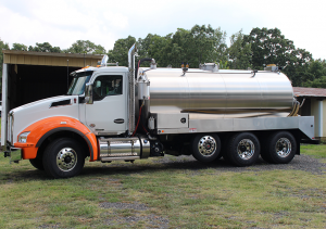 septic pumper vacuum truck Kenworth T880 3600Gallon Tank