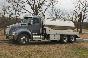 Septic Vacuum Pumper Truck - 3600 Gallon Stainless Vacuum Tank - Kenworth T880