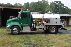 Portapotty Service Pumper Truck - 26000GVW - Kenworth T270